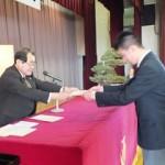 平成25年卒業生の同窓会入会式